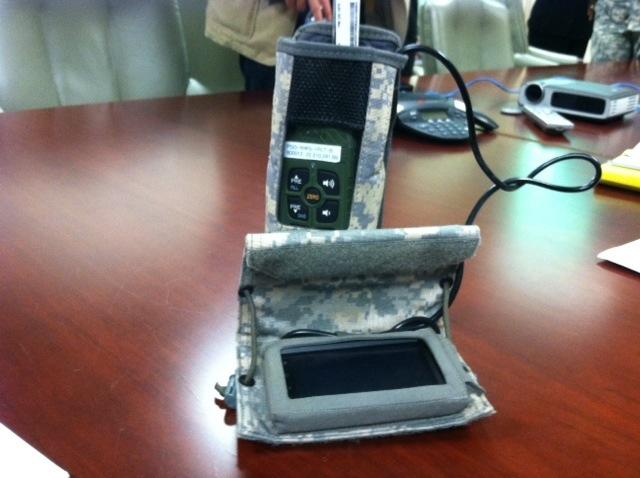Image of nett warrior smartphone